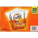 Pepperidge Farm Goldfish Cheddar Crackers, Snack Packs, 45 Oz