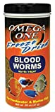 Omega One Freeze Dried Blood Worms, 0.96 oz