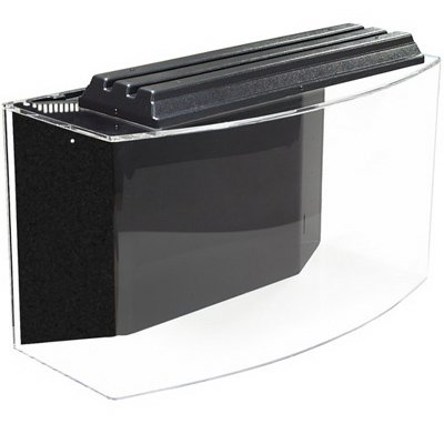SeaClear 46 gal System II Bowfront Acrylic Aquarium, 36 by 161/4 by 20', Cobalt Blue