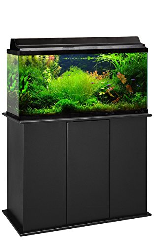 Aquatic Fundamentals, 50/65 Gallon Aquarium Stand, Black, Made in The USA