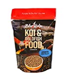 Blue Ridge Fish Food Pellets [2lb] Koi and Goldfish Growth Formula, Mini Floating Pellet, Balanced Diet