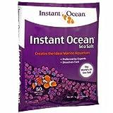 Instant Ocean Sea Salt 50 Gallons, For Marine aquariums, Fast Dissolving