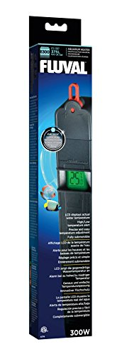 Fluval E300 Advanced Electronic Heater, 300-Watt Heater for Aquariums up to 100 Gal., A774