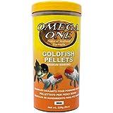 Omega One Goldfish Pellets, Sinking, 4mm Medium Pellets, 8 oz