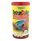 TetraColor Tropical Granules, Clear Water Advanced Formula (16262), 10.58-Ounce, 1-Liter
