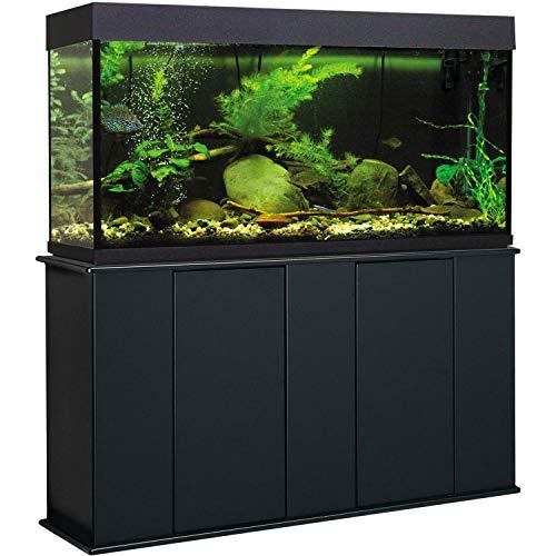 Aquatic Fundamentals 16551, 55 Gallon Upright Aquarium Stand, Black