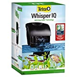 Tetra Whisper IQ Power Filter 10 Gallons, 105 GPH, with Stay Clean Technology