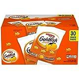 Pepperidge Farm Goldfish Cheddar Crackers, 1.5 Oz Snack Packs, 30-Count Multi-Pack Box