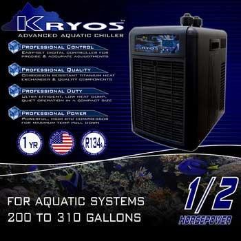 Deep Blue Professional ADB50060 Kryos Advanced Aquatic Chiller, 1/2 HP