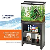Aqueon Essence Aquarium Stand, 20-Inch , Black
