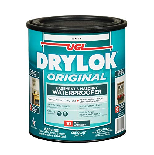 Drylok 27512 Latex Water Proofer, 1 Quart, White
