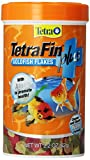 TetraFin Plus Goldfish Flakes 2.2 Ounces, Balanced Diet, With Algae To Promote Health