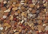 Carib Sea ACS00877 Gemstone Creek Gravel for Aquarium, 50-Pound