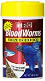 Tetra BloodWorms 0.28 Ounce, Freeze-Dried Food For Freshwater and Saltwater Fish, 0.28-Ounce, 100-Ml