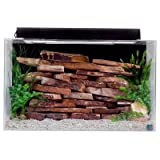 SeaClear 29 gal Show Acrylic Aquarium Combo Set, 30 by 12 by 18', Clear