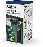 Aqueon QuietFlow E Internal Power Filter Extra Small - 3 Gallon