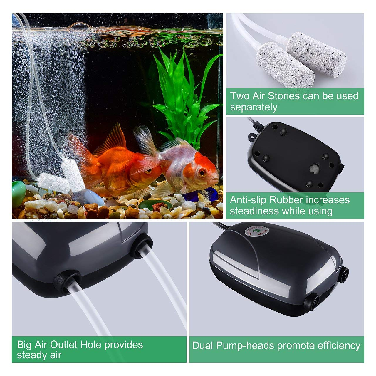 Top Air Pumps For Aquariums